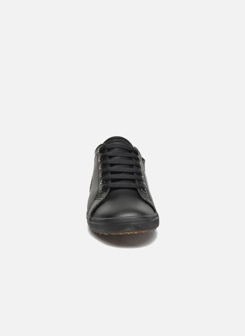 Baskets Fred Perry Kingston Leather Noir vue portées chaussures