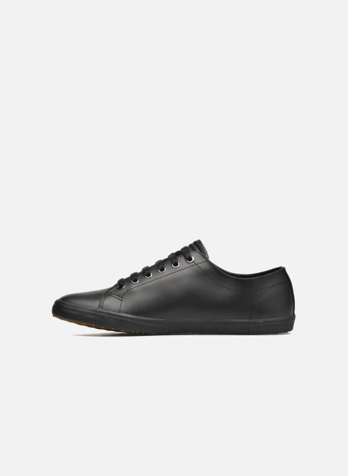 Baskets Fred Perry Kingston Leather Noir vue face