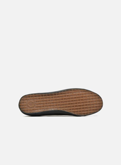 Baskets Fred Perry Kingston Leather Noir vue haut