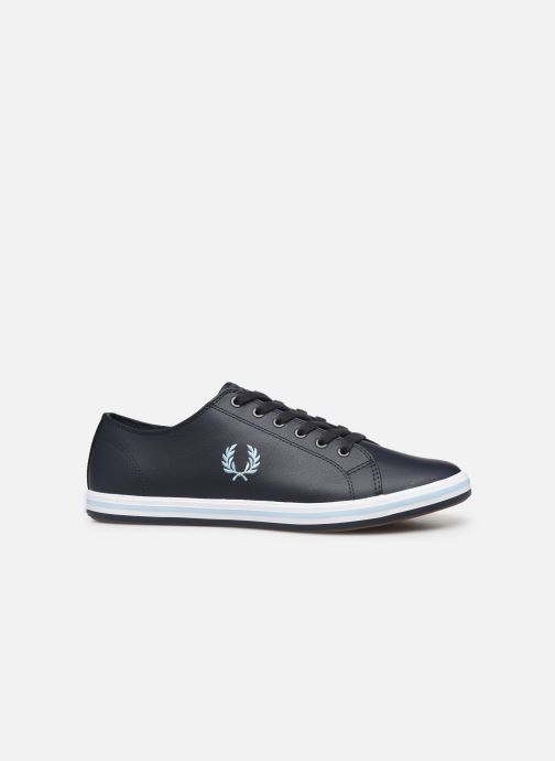 Baskets Fred Perry Kingston Leather Bleu vue derrière