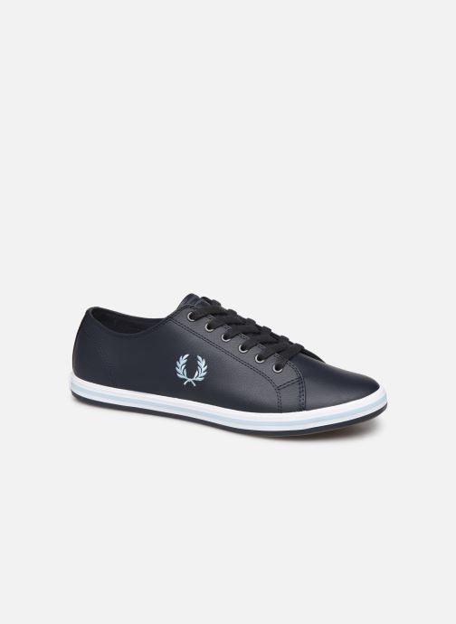 Sneakers Fred Perry Kingston Leather Blauw detail