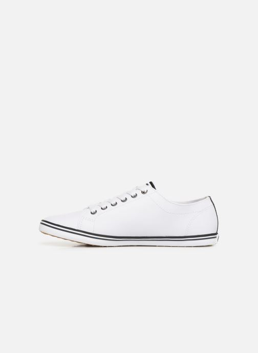 Baskets Fred Perry Kingston Leather Blanc vue face
