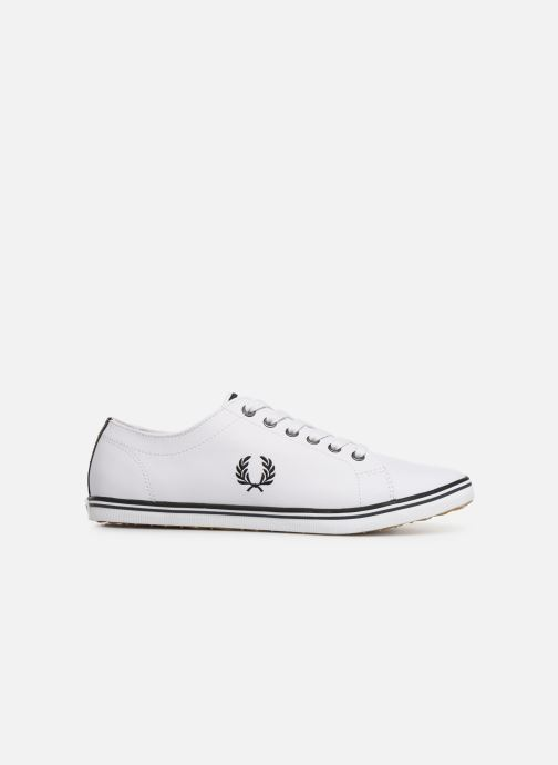 Sneakers Fred Perry Kingston Leather Wit achterkant