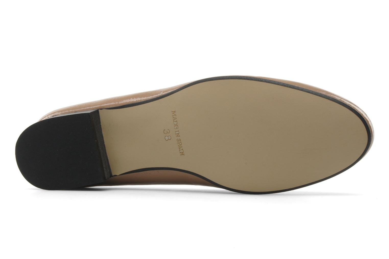 Loafers Valensi Vovon Beige view from above