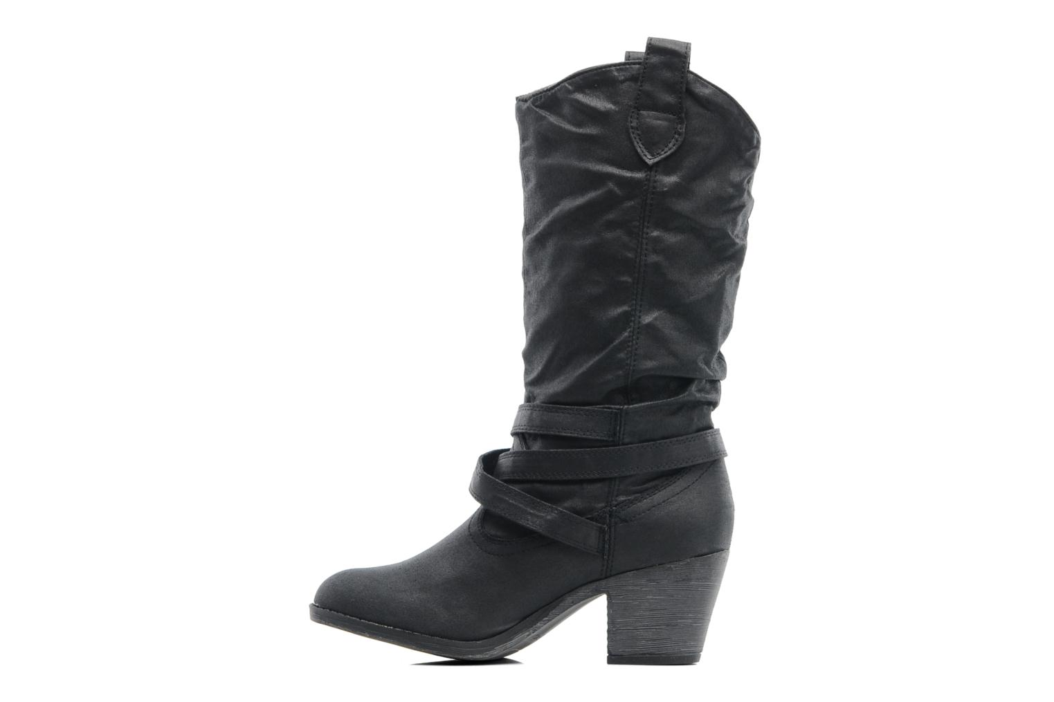 Bottines et boots Rocket Dog SIDESTEP Noir vue face