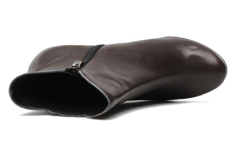 Bottines et boots Bocage Ikeio Marron vue gauche
