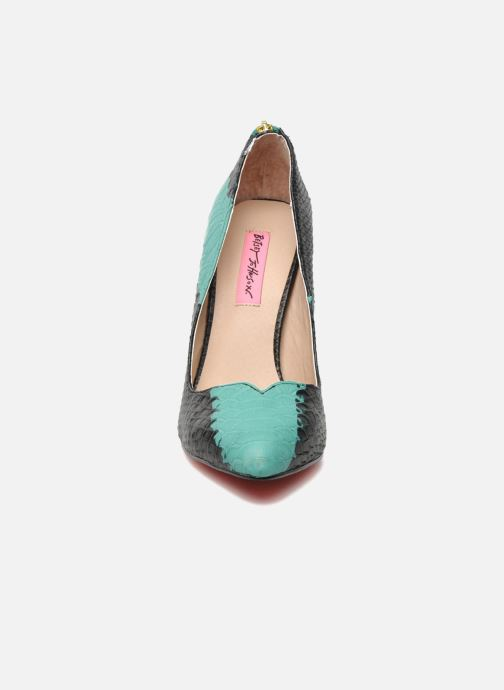 High heels Betsey Johnson TAYLR Green model view