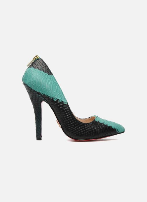 High heels Betsey Johnson TAYLR Green back view