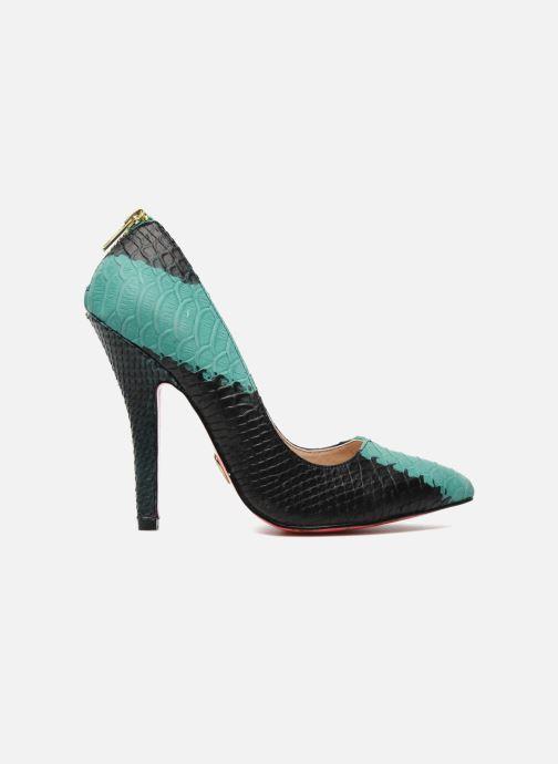 High heels Betsey Johnson TAYLR Green back view
