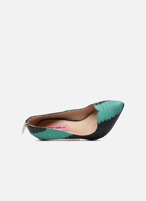 High heels Betsey Johnson TAYLR Green view from the left