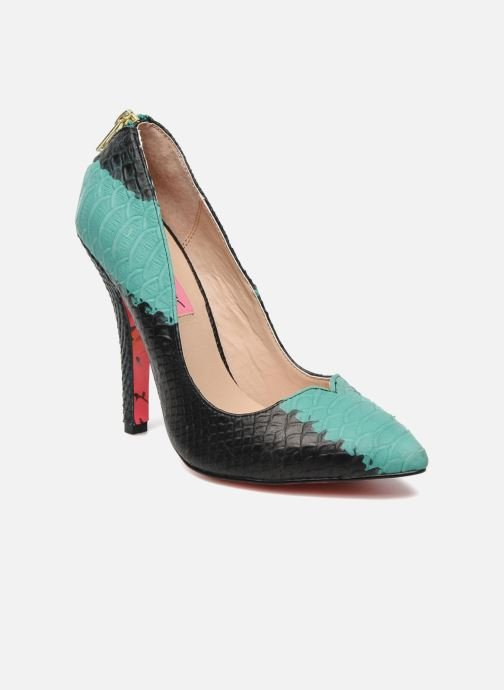 High heels Betsey Johnson TAYLR Green detailed view/ Pair view