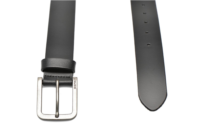 Ceintures Esprit Zilan Leather Belt 40mm Noir vue portées chaussures
