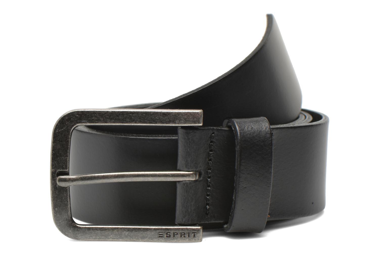 Ceintures Esprit Zilan Leather Belt 40mm Noir vue détail/paire