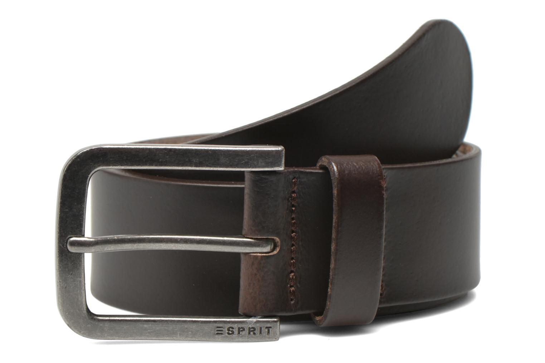 Ceintures Esprit Zilan Leather Belt 40mm Marron vue détail/paire
