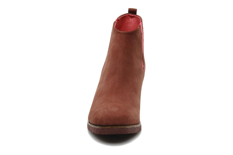Bottines et boots Flipflop PEKKA DOS Marron vue portées chaussures