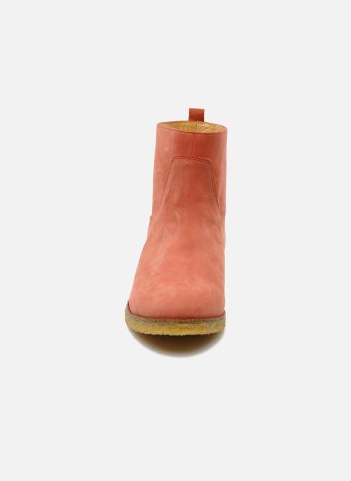 Stiefeletten & Boots Flipflop CABALLO orange schuhe getragen