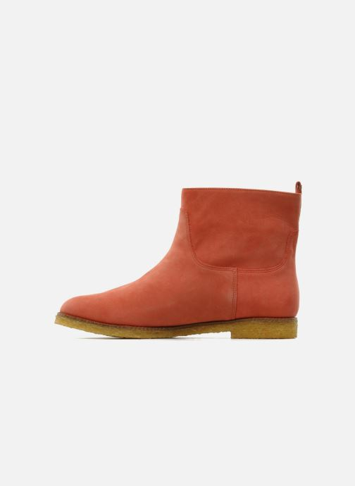 Ankle boots Flipflop CABALLO Orange front view