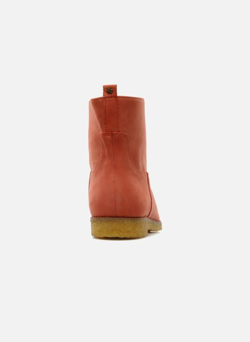 Ankle boots Flipflop CABALLO Orange view from the right