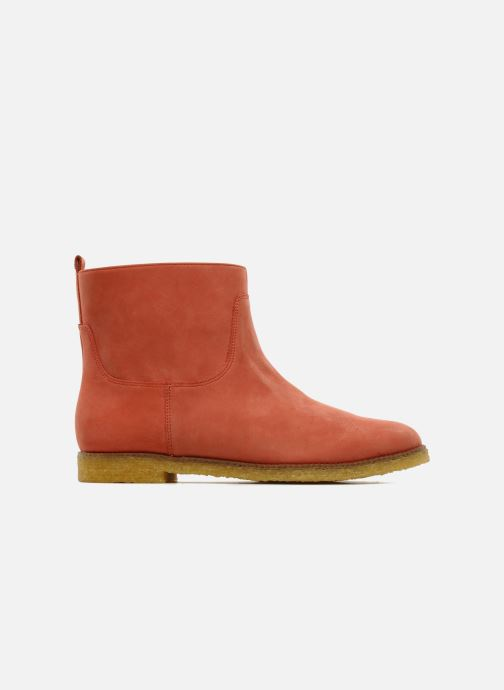 Ankle boots Flipflop CABALLO Orange back view