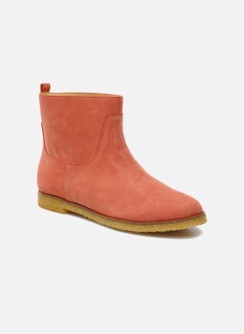 Ankelstøvler Flipflop CABALLO Orange detaljeret billede af skoene