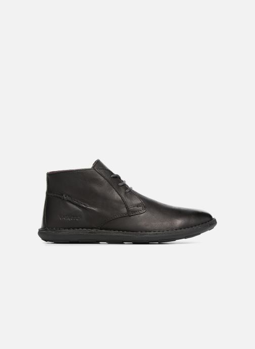 Zapatos con cordones Kickers SWIBO Negro vistra trasera