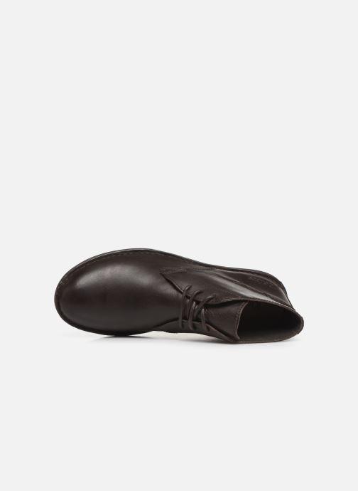 Scarpe con lacci Kickers SWIBO Marrone immagine sinistra