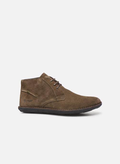 Zapatos con cordones Kickers SWIBO Verde vistra trasera