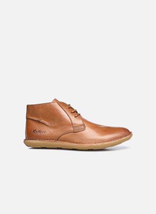Zapatos con cordones Kickers SWIBO Marrón vistra trasera
