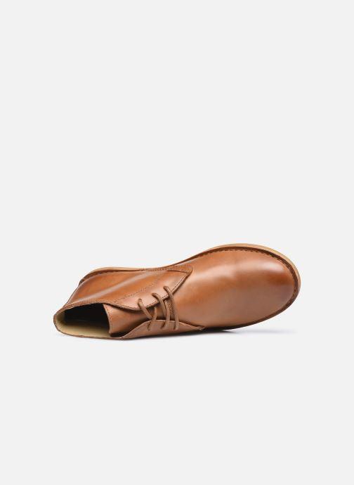 Zapatos con cordones Kickers SWIBO Marrón vista lateral izquierda