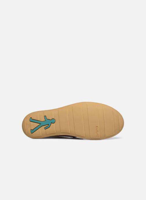 Chaussures à lacets Kickers SWIBO Marron vue haut