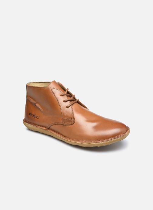 Zapatos con cordones Kickers SWIBO Marrón vista de detalle / par