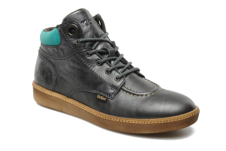 dfffe8277289a5 Kickers HAPYME (Gris) - Chaussures à lacets chez Sarenza (102585)