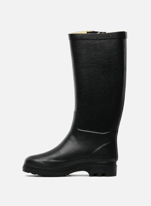 Boots & wellies Aigle Aiglentine Fur Black front view
