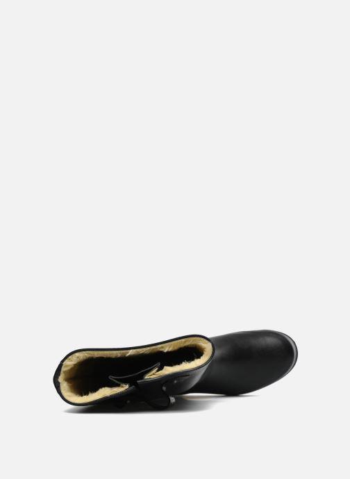 Stiefel Aigle Aiglentine Fur schwarz ansicht von links