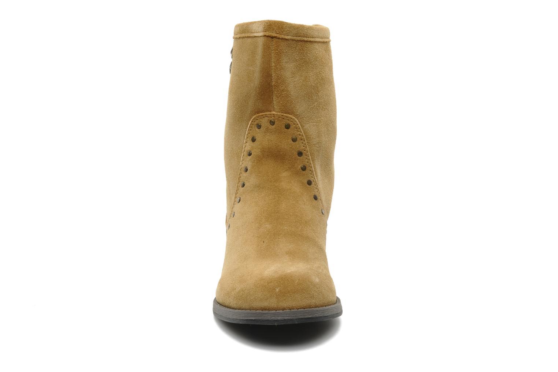 Bottines et boots Derhy Calify Beige vue portées chaussures