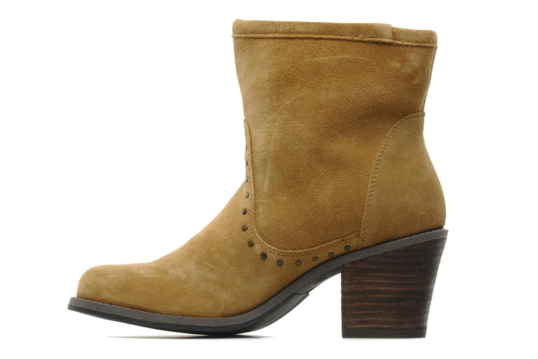 Bottines et boots Derhy Calify Beige vue face