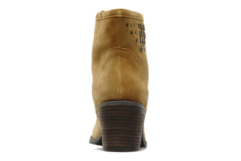 Bottines et boots Derhy Calify Beige vue droite