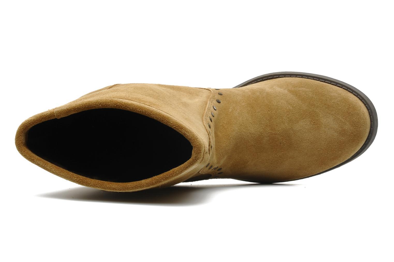 Bottines et boots Derhy Calify Beige vue gauche