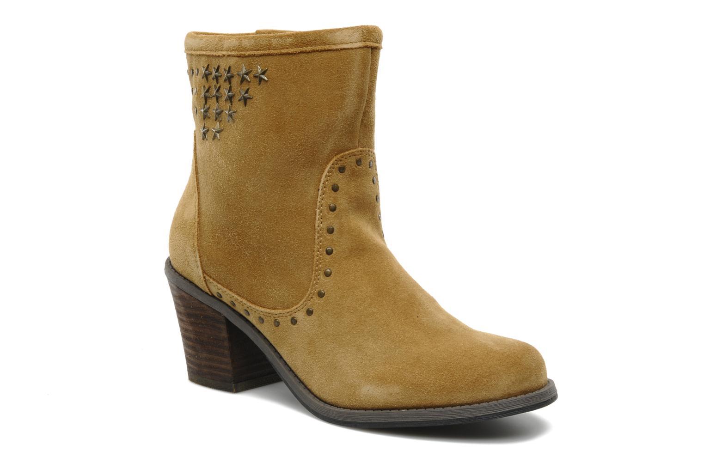 Bottines et boots Derhy Calify Beige vue détail/paire