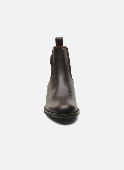 Chaussures de sport Aigle Orzac W Marron vue portées chaussures
