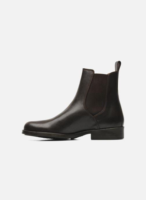 Chaussures de sport Aigle Orzac W Marron vue face