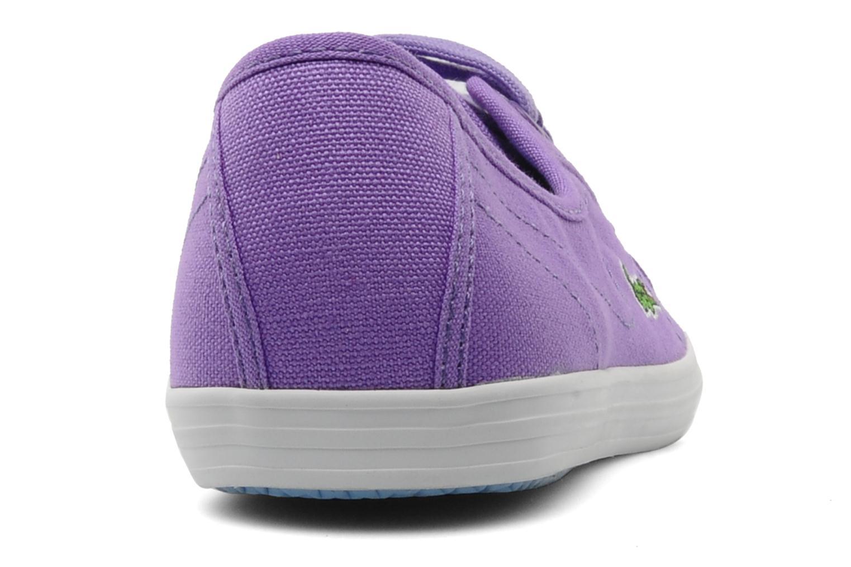 Baskets Lacoste Ziane Pt Violet vue droite