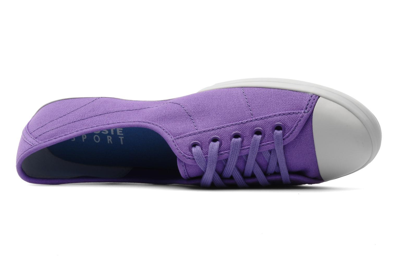Baskets Lacoste Ziane Pt Violet vue gauche