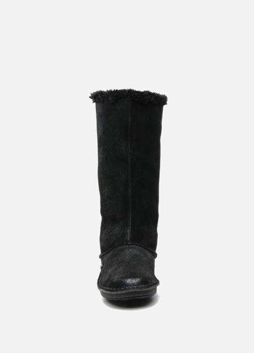 Chaussons Hush Puppies SACHEM Noir vue portées chaussures