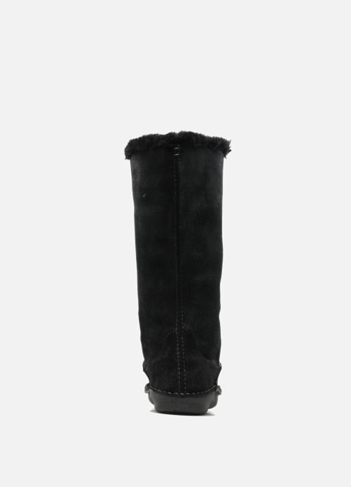 Boots & wellies Hush Puppies SACHEM Black view from the right