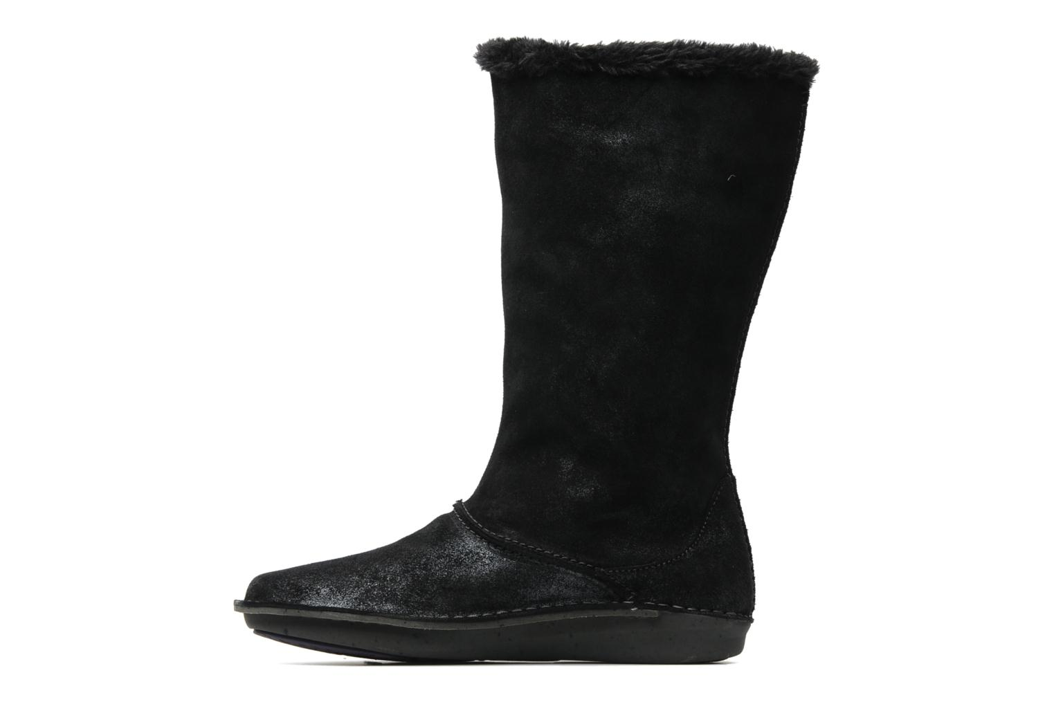 Bottines et boots Hush Puppies SACHEM Noir vue face