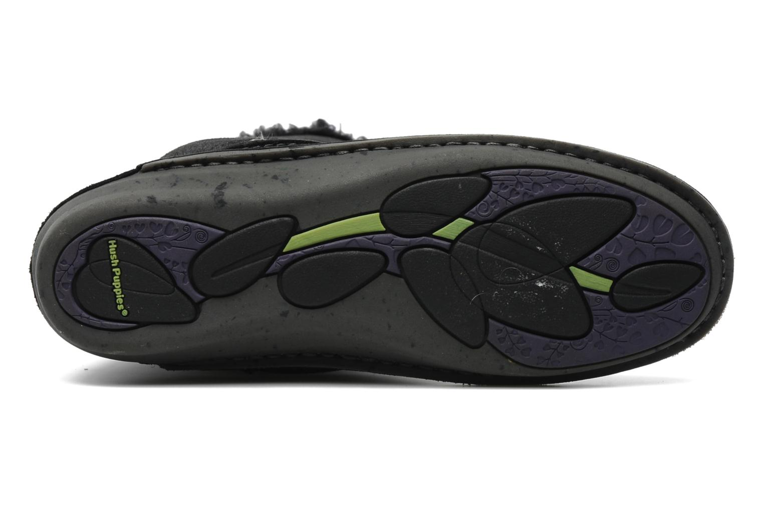 Slippers Hush Puppies SACHEM Black view from above