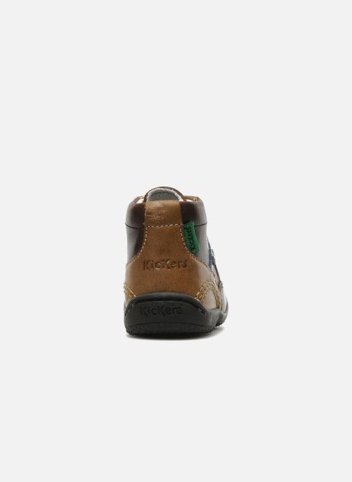 Stiefeletten & Boots Kickers GUGUS braun ansicht von rechts