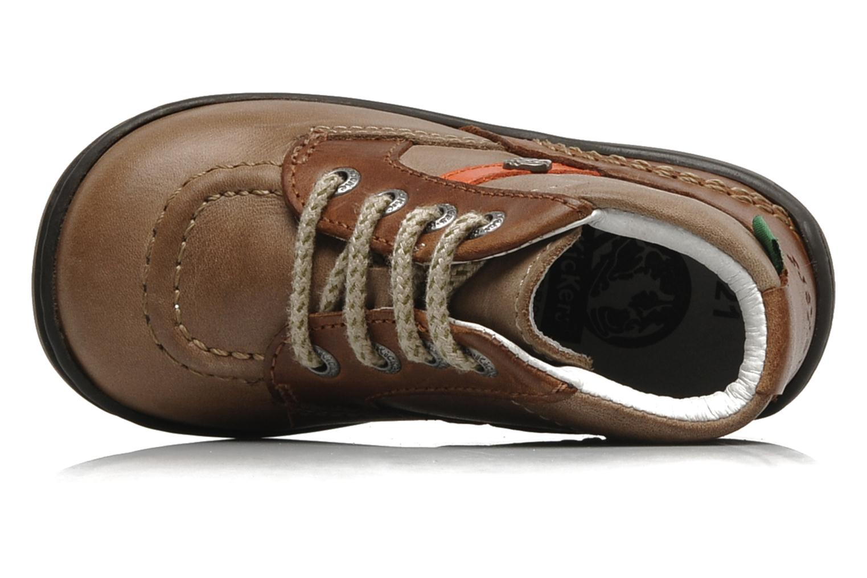 Bottines et boots Kickers GUGUS Beige vue gauche