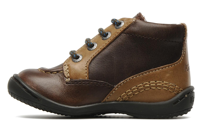 Stiefeletten & Boots Kickers GUGUS braun ansicht von vorne